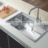 Professional Factory Cheap Wholesale Trendy style stainless steel kitchen wash basin from China workshop