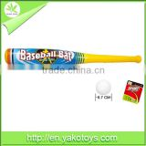 high quality and good design sport toy PP material best popular baseball bat with all ceryificate