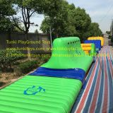 Giant inflatable water park,inflatable water amusement park,inflatable sports game for kids water slide iceberg  seasaw