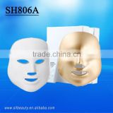 7 colors red/green/blue/white/cyan/purple 3D anti-aging facial mask Led photon treatment PDT acne wrinkle removal machine