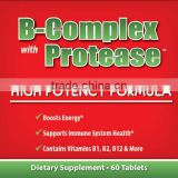 GMPc NUTRITIONAL SUPPLEMENT w/ B 12 VITAMIN B COMPLEX TABLETS