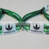 MF 1K compatible RFID Fabric Wristbands for Events, RFID Woven Wristbands for Festival