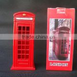 "Die-Cast London Telephone Booth Replica, 5.7""H"