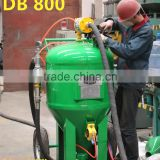 Green color DB800 Dustless Blasting Machine/ Sand blasting machine / portable sand blaster