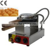 Hot sale aberdeen egg waffle pan,electric egg waffle maker,small egg shaped cake processing machine (ZQW-547)