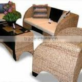 Water hyacinth living room sofa, furniture for living room or guest room modern style