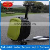 2015 hot selling travel luggage suitcase scooter
