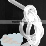 Clear Elastic Silicone Rubber Tube