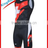 High quality triathlon clothing for man and ladies, Ykk 3/4 hidden zippers, comfortable material for triathlon suit