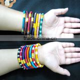 multi color Handmade Thread Bangles