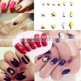 New nail art products wholesale nail art patch fashion nail art metal rivets DIY various models nail art jewelry 50/piece