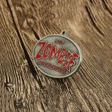ZOMBIE 5K Chase Race Custom Medals