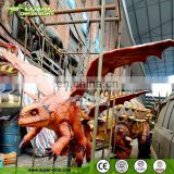 Theme Park Decoration of Animatronic Dragon Model