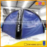 Commercial use inflatable camping dome tent for sale