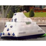 inflatable iceberg, inflatable climb&slide water toy