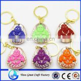 2015 New Design Custom Buddha Key Chain Wholesale