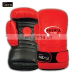 Pakistan Red and Black Cowhide Leather Boxing Glove