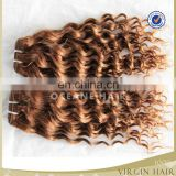 Wholesale price luxury popular style hot selling products crochet darling light brown hair weave extensions