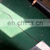 Elastomeric power cables spring wire coiled cable spiral coiled cable