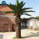 luxury artificial plastic palm tree for decorations
