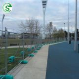 Top selling low price portable Australia temporary fence no dig fencing panels for events