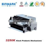 Small label printing machine/innovative mechanical kiosk product Mechanism