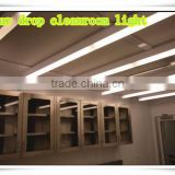 single tube t8 fluorescent fixtures 1*20W 1*30W 1*40W clean room light fixture / pharmaceutical lighting / tear drop light