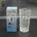 square glass vases clear flower vases