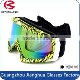 Spherical dual motorcycle protective polarized revo uv protective lens for motocross skiing paintball goggles