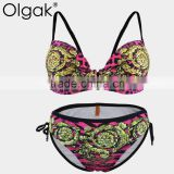Olgak2016 New Sexy Pink Brazil Bikini Beautiful Women Swimsuit