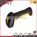 RD - 6870W Wireless Waterproof Handheld Laser USB Barcode Bar Code Scanner Scan Gun with Base memory
