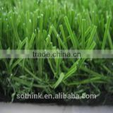 Hot sale 35mm curly+straight monofilament yarn synthetic lawn for football filed with CE certificate