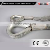 excellent quality and reasonable price galvanized steel poly propylene wire rope hs code 8mm