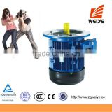 Durable in use three phase 16kw electric ac motor high speed fan motor