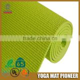 Hot sale pvc non slip embossed tpe yoga mat with low price