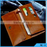5.5 inch Universal Mobile Phone Case Leather Wallet Card Pocket for all Mobile Phone Case