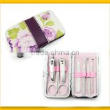 Flowery beauty manicure set