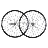 29er 35mm width carbon bike wheelset , clincher bubeless ready carbon all mountain bike wheelset AM290-35-TL