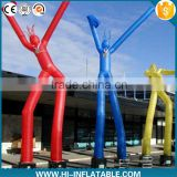 used advertising inflatable flying air dancer,yellow inflatable air dancer costume                                                                         Quality Choice