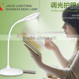 JK865 Creative LED Flexible Reading Light Clip-on Bed Table Desk Lamp Rechargeable
