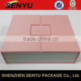 custom luxury double packing design, cosmetic carboard paper box with magnetic snaps                                                                                                         Supplier's Choice