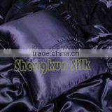 China 100 % 19mm Charmuese Luxury Silk Jacquard bedding set/silk pillowcase/silk pillow cover