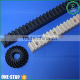 China manufacturer high precision customized moulding injection plastic derlin pom rack gear