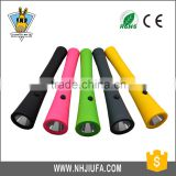JF Bulk Sale 2 in 1 Magnetic Portable Emergency ABS 10 LED Torch Plastic Flashlight 10+1W LED Work Torch
