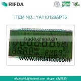 Smart electricity meter very small lcd screen display