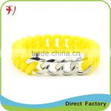 custom made printing colorful silicon hand band,soft silicon wristband                                                                                                         Supplier's Choice