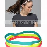 Customized unisex Nylon Sport non slip Yoga running headband