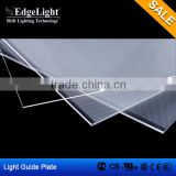 Edgelight UL approved led panel for lighting(Reflective film+led Diffuser plate+pmma lgp)