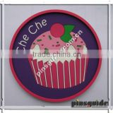 Promotional Personalised Soft PVC Che Che Heat Resistant Coaster For Advertising