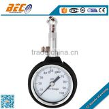 (YT-50A) 50mm single scale 100psi bottom connection with rubber protective sleeve wireless tire pressure gauge